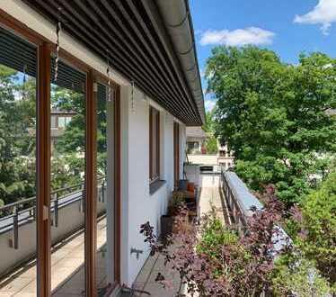 Traumhafte Maisonette mit sonniger Dachterrasse und TG