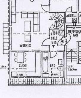 Attraktive 2 Zimmer Dachgeschoss - Wohnung in TOP Wohnlage von Tauberbischofsheim zu vermieten
