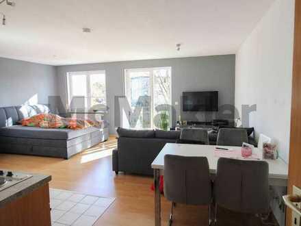 Helle Single-Wohnung direkt am Neckar: Vermietete 1-Zi.-ETW mit Balkon nahe Stuttgart