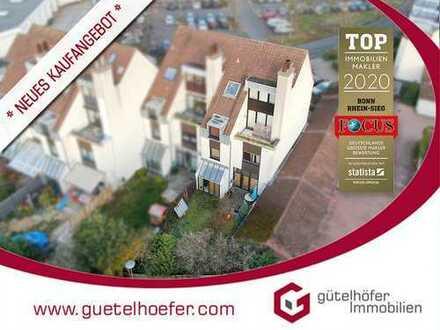 Großzügige 145m² Maisonettewohnung mit Garten, Loggia, offenem Kamin und Garage am neuen Markt