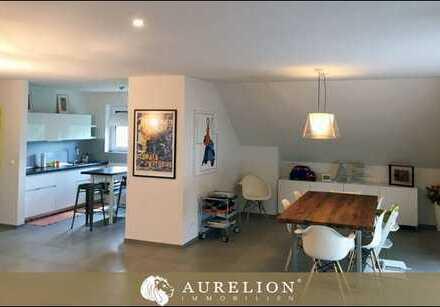 EXKLUSIV WOHNEN AM GODELSBERG Großzügige Maisonette-Wohnung mit 4 Schlafzimmer, 3 Bäder und Balkon