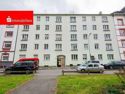 Toplage im Offenbacher Westend ! Blick auf dem Park im Isenburgring.