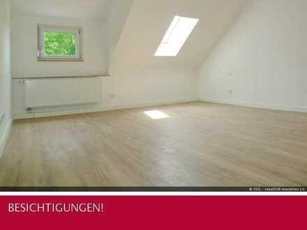 Hunde Willkommen! Sanierte 2-Zi. DG-Wohnung mit EBK, Garten und Garage - im Grünen von Murr!