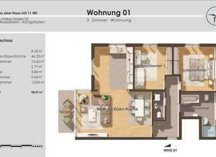 WE 01 - 3 Zimmer - EG