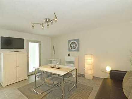 Immobilien-Richter: Top ausgestattete 3-Zimmer-Wohnung mit großer Terrasse. MÖBLIERT