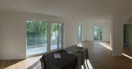 Neubau 3-Zimmer-Wohnung mit großem Balkon direkt an der Naab
