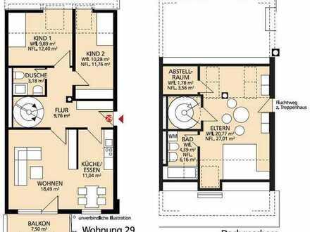 4-Zimmer Studio-Dachgeschosswohnung