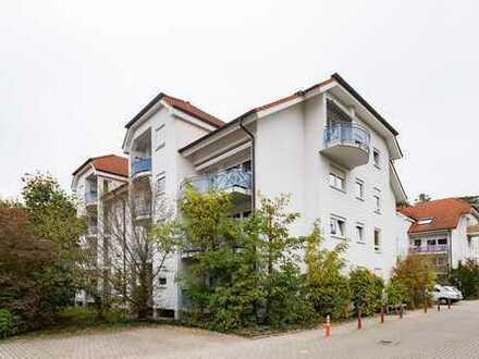 Kapitalanlage - gemütliche 2-Zimmer-Wohnung in ruhiger Lage Nähe Hardtwald