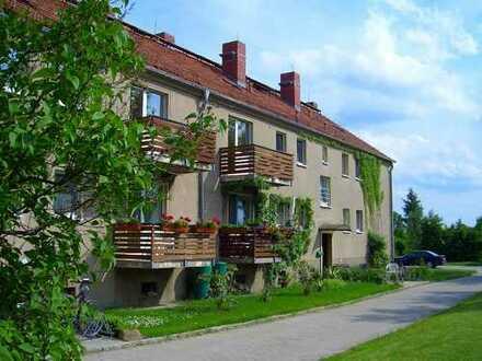 Vermietet: 4-R-WE mit zwei Balkonen in ländlicher Idylle
