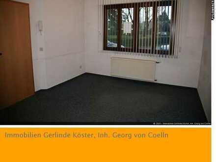 Erdgeschoss-Single-Wohnung mit Einbauküche in zentraler Lage