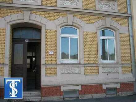 vermietete 2-Zimmer-Gewerbeeinheit mit WC im Erdgeschoss in Plauen (Nähe Media-Markt)