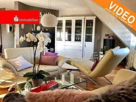 Steinheim-Traumhafte Maisonette Wohnung mit Blick