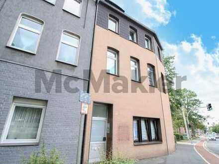 Zentral gelegene Kapitalanlage: Vermietetes Dreifamilienhaus mit Eigentümerwohnung in Oberhausen