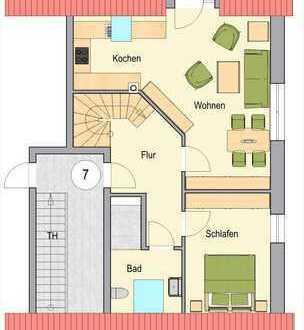 Neubau in Raesfeld! Attraktive, komfortable Maisonette-Wohnung mit Balkon - A1928