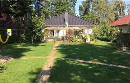 Hübsches Einfamilienhaus auf schönem Grundstück in herrlicher Naturlage nahe Oranienburg