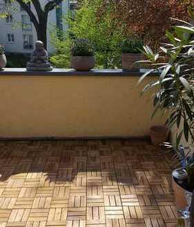 Schöne Maisonette-Dachgeschosswohnung im Dortmunder Süden, 3 Zimmer,KDBG, Balkon mit Blick ins Grüne