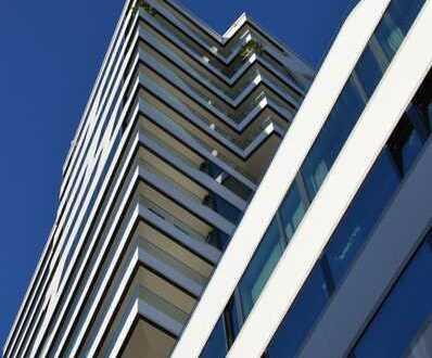 CLOUD No 7 - möblierte exklusive 2-Zi Wohnung mit 2 TG Stellplätzen
