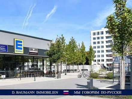Ab sofort! Ansprechende 2 Zi. Neubauwohnung mit Loggia, grüne, ruhige Lage, Marienplatz - 21 min, S2