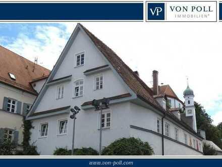 Arbeiten inmitten der Burgauer Altstadt: 3 Büroräume in attraktivem Geschäftshaus