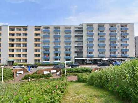 Moderne 2-Zimmer-Wohnung mit Nordseeblick