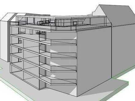 Baulücke mit Baugenehmigung für 1.400 qm WFL + Bestandsobjekt für insg. 2.300 qm Wohnfläche!