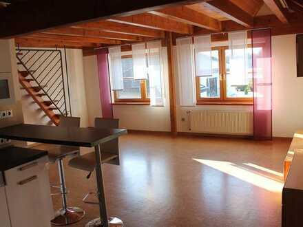 Modernisierte 2-Zimmer-Maisonette-Wohnung mit Einbauküche in Fichtenau