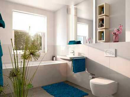 Schöne 3-Zi.-Wohnung Obergeschosswohnung mit Tageslichtbad und großem Südbalkon