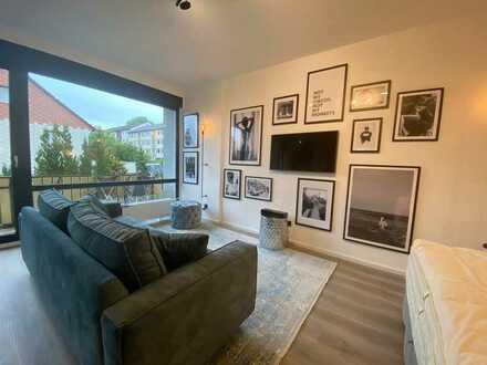 Sanierte Loft-Wohnung mit Balkon und Einbauküche - sehr gute Rendite