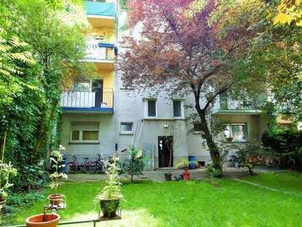 Mehrfamilienhaus mit Balkon und Garten in Ludwigshafen!