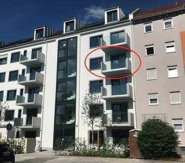 *Moderne 3 Zimmer Wohnung mit Blick auf den Luitpoldpark*