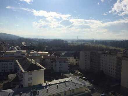 Toller Blick von der 1-Zimmer-Wohnung in Lörrach (direkt an der Grenze)