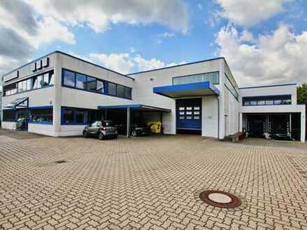 Funktionale Halle sowie Bürotrakt in Ahrensburg