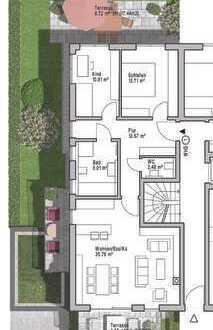 PASING - wunderschöne 3-Zi-EG-Gartenwohnung (Wohnung 1) Rohbau bereits erstellt !