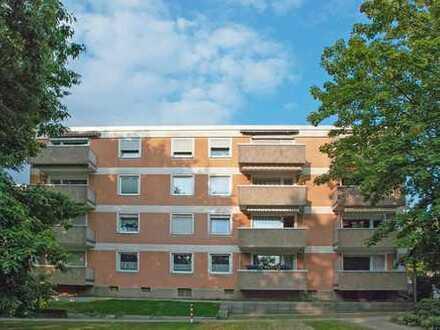 Bochum-Höntrop: Eigentumswohnung im Hochparterre mit Balkon in West-Ausrichtung in Südpark-Nähe