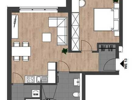 Erstbezug: Moderne, schöne 2-Zimmer-Wohnung mit gehobener Innenausstattung in zentraler Lage