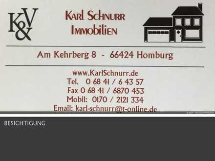 moderne und neuwertige Wohnung 2 ZKB Terrasse in Elversgberg/Saar