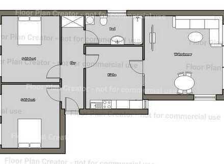 Geräumige 3,5 Zimmer Wohnung mit Garten in zentraler Lage