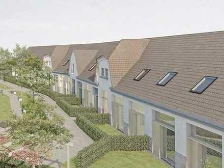Außergewöhnlies Wohnen/ Remise Landesgartenschaugelände WE 5 mit großer Außenfläche/Terrasse