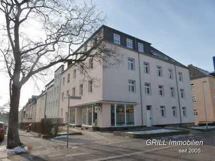 ruhig gelegene 4 RW im EG * Balkon * Laminat * Bad mit Wanne und Fenster in Hilbersdorf