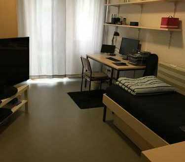 Möbliertes Zimmer (12qm) im Studentenwohnheim Donau-Schwaben-Straße