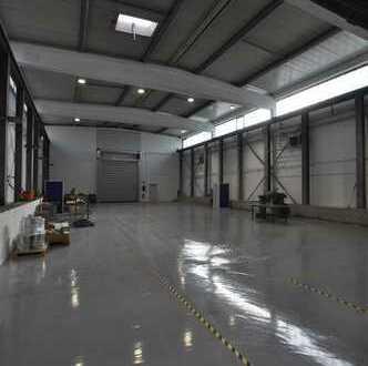 Teilbare Produktions- und Lagerhalle