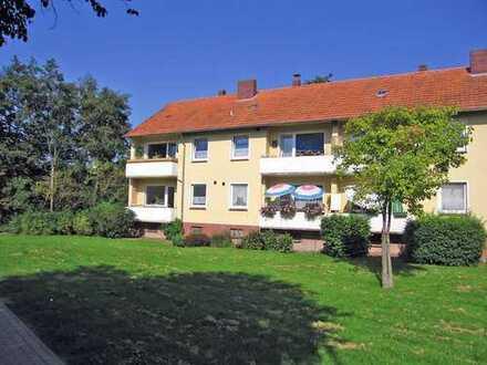 Seniorenwohnung mit Aussicht auf gepflegte Grünanlage