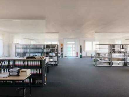 Großzügige Büroflächen, teilbar, separate Eingänge | bis zu 600 qm Lager verfügbar