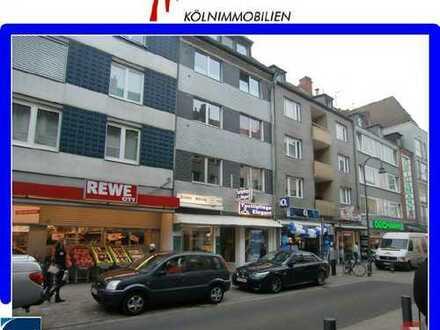 LADEN in 1A LAUFLAGE auf der SEVERINstraße zw. REWE + MERZENICH