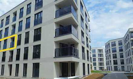 Erstbezug: gehobene 2-Zimmer-Wohnung mit Balkon in München, Aubing