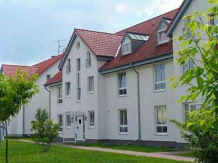 Gepflegte, ruhig gelegene Wohnung im Ortskern von Biederitz mit Südbalkon!