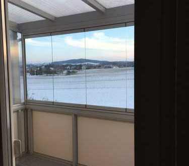 Gepflegte 3-Zimmer-Wohnung mit Balkon und Einbauküche in Haselbachtal