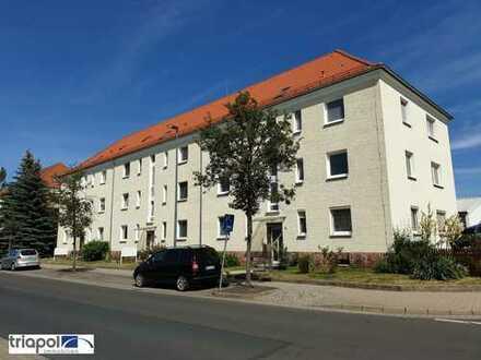 Gemütliche 2-Zi-Wohnung mit Laminatboden und Tageslichtbad in Radebeul.