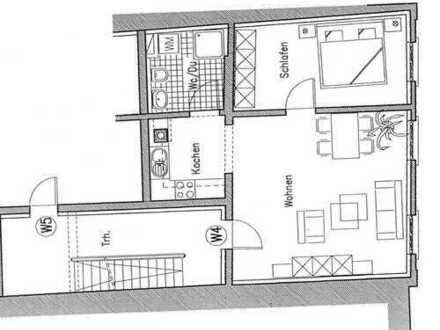 Schöne, gepflegte 2-Zimmer-Wohnung in Markdorf