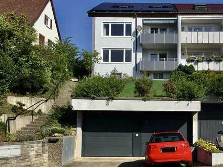 Erstbezug nach Sanierung mit Balkon: schöne 4-Zimmer-Hochparterre-Wohnung in Korb